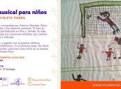 Tarde musical para niños en Museo Violeta Parra