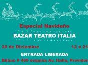 Bazar Navideño en Teatro Italia
