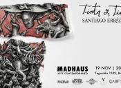 Exposición TINTA y TINTO de Santiago Errázuriz