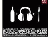 Vinos, música y gastronomía en Patio Bellavista
