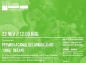 Premiación al Premio Nacional del Humor Jorge