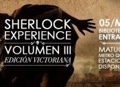 Sherlock Experience Edición Victoriana en Biblioteca de Santiago