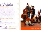 Color Violeta en Museo Violeta Parra