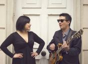 Natalia Corvetto y Daniel Miranda en Biblioteca Viva