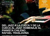 Homenaje al pianista chileno Rafael Traslaviña en Projazz