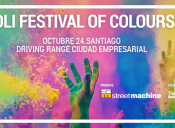 Holi Festival of Color en Santiago
