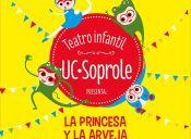 """TEATRO INFANTIL UC-SOPROLE SE PRESENTA EN SANTIAGO CON LA OBRA """"LA PRINCESA Y LA ARVEJA"""""""
