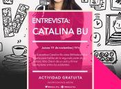 Entrevista: Catalina Bu en Biblioteca Viva Egaña