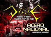 Presentación vocalista y adelanto de disco banda Acero Nacional