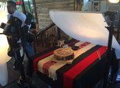 Cena romántica y ritual mapuche