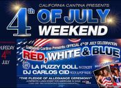 4th of july Weekend, California Cantina