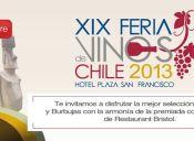 Feria de Vinos Chile 2013, Hotel Plaza San Francisco