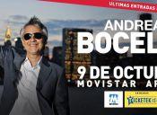 Andrea Bocelli en Chile, Movistar Arena
