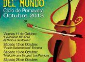 """Festival Músicas del Mundo: """"Ciclo Primavera 2013″ en Centro Cultural Las Condes"""