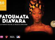 Fatoumata Diawara por primera vez en Chile, Teatro Nescafé de las Artes