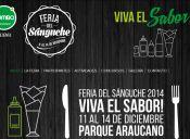 Feria del Sánguche 2014, Parque Araucano