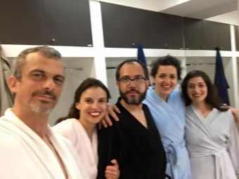 Demasiado Cortas las Piernas en Goethe-Institut Chile