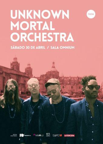 Unknown Mortal Orchestra en Sala Omnium