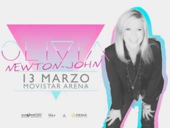 Olivia Newton-John en Chile