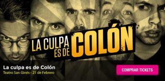 La Culpa es de Colón en Teatro San Ginés