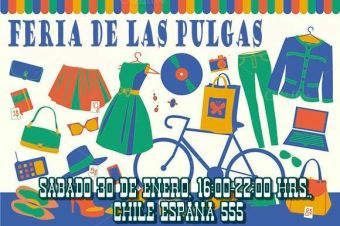 Feria de las pulgas y mas en Casona Chile España
