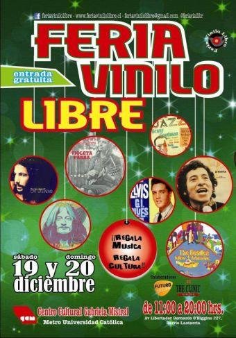 Feria del Vinilo Libre en el GAM