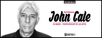 John Cale en Chile