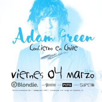 Adam Green en Chile