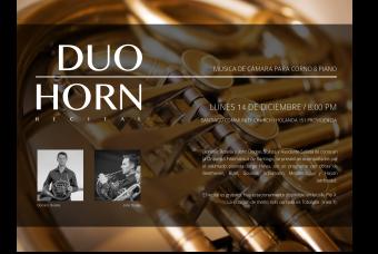 Recital de corno francés del Dúo Horn