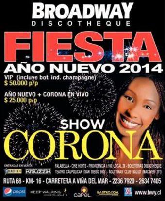 Fiesta Año Nuevo 2014 en Broadway Discoteque