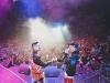 La espectacular aparición de Justin Bieber en un concierto de J Balvin