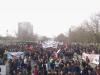 Con incidentes aislados terminó la multitudinaria marcha convocada por la Confech