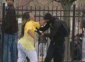 Una madre vio a su hijo en las protestas de Baltimore y esto fue lo que pasó