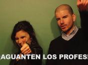 [VIDEO] Giorgio Jackson y Camila Vallejo explican las demandas de los profesores jugando ping pong
