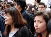 Marcha contra el Simce convocada por la ACES terminó con incidentes y 15 detenidos