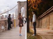 La pareja de pololos que la rompe en Instagram gracias a sus ingeniosas fotos