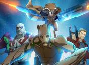Mira el primer adelanto de la serie de los Guardianes de la Galaxia