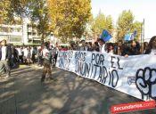 Nueva marcha por la educación reúne a más de 100 mil personas