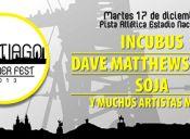 Incubus encabezará Santiago Summer Fest 2013