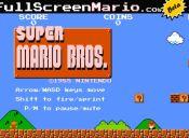 Jugar Super Mario Bros ahora está a un click de distancia