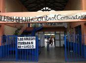 Estudiantes de la Escuela Comunitaria República Dominicana fueron desalojados en La Florida