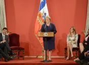 Bachelet no quiere mandarse un