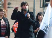 Protesta de estudiantes del Instituto Nacional terminó con la detención del diputado Gabriel Boric