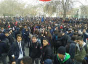 Estudiantes marcharon nuevamente en contra del ránking de notas