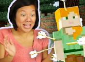 Lo que suele pasar cuando se juega Minecraft por primera vez
