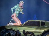 Miley Cyrus encontró fome al público sudamericano