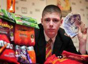Estudiante gana más de $13 millones vendiendo golosinas en su colegio
