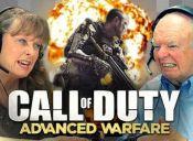 ¿Cómo andan los abuelos jugando Call Of Duty?