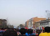 Estudiantes vuelven a demostrar unidad y masividad con marcha de 150 mil personas