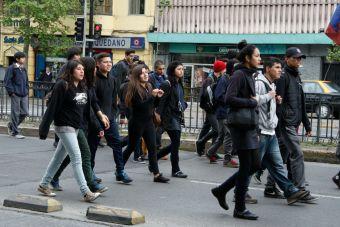 Estudiantes secundarios anuncian nuevas movilizaciones para los próximos días